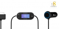 Automatic Searching FM Transmitter for iPhone 4/4S/ iPad 2