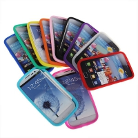 Силиконовый чехол для Galaxy S3(III) i9300 Blue, black, pink, white, red