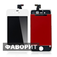 Дисплей на iPhone 4, 4S White