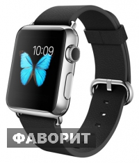 Apple Watch 42mm with Classic Buckle Black Leather
