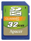 32GB SDHC Apacer Class 10