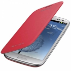 Flip cover для Samsung Galaxy i9300 red