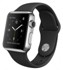 Apple Watch 38mm with Sport Band Black