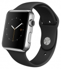 Apple Watch 42mm with Sport Band Black