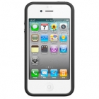 Бампер Bumpers Apple iPhone 4 - Черный цвет